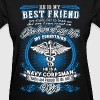 Navy corpsman - I am a navy corpsman wife - Women's T-Shirt