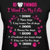 Dog lover - I want a husband who loves dogs - Women's T-Shirt