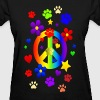 PEACE & PAWS - Women's T-Shirt