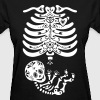 Sugar Skull Maternity Skeleton Skelly Baby - Women's T-Shirt