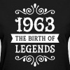 1963 - The Birth Of Legends - Women's T-Shirt