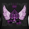 Ace Ornate LGBT Asexual Pride - Women's T-Shirt