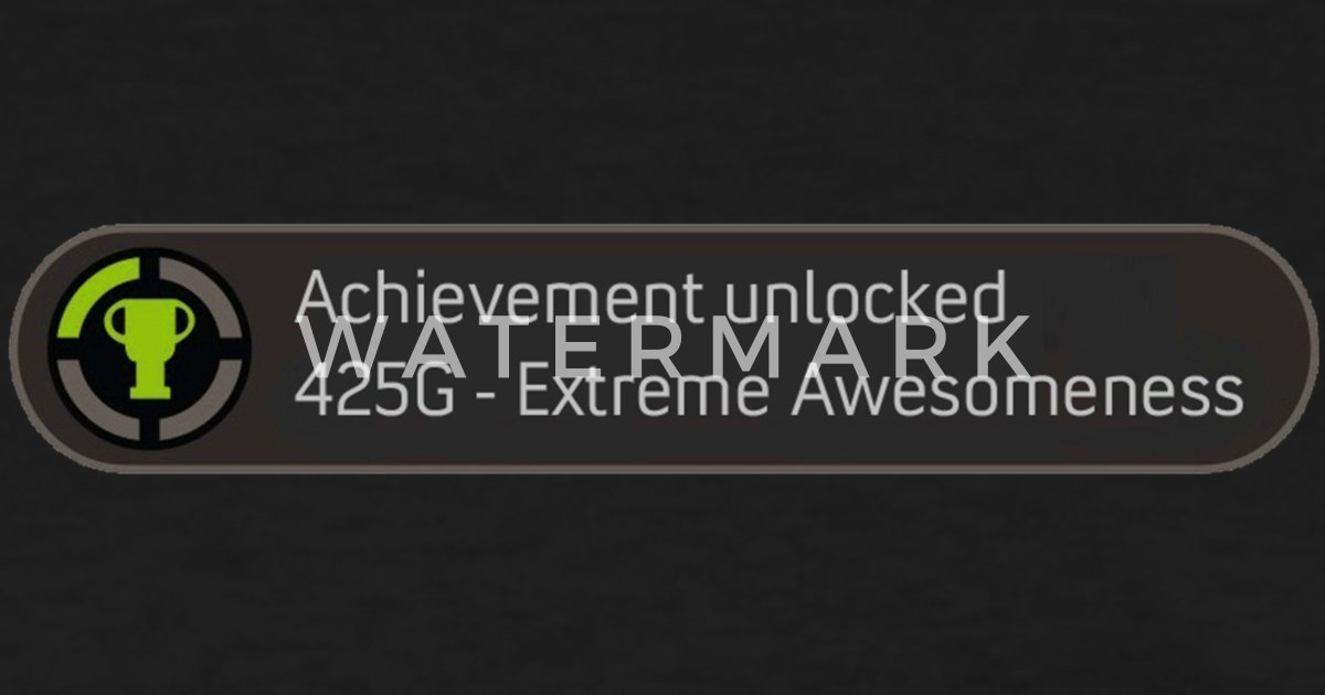 Achievement Unlocked Awesome Xbox 360 Womens T Shirt