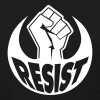 Resist power fist - Women's T-Shirt