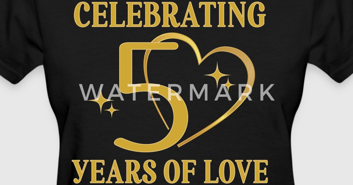 Wedding T Shirt Ideas: 50th Wedding Anniversary Golden By Homewiseshopper