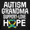Autism Awareness Grandma - Women's T-Shirt