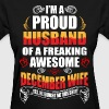 I'm A Proud Husband of a Freaking Awesome December - Women's T-Shirt