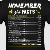 November Girl Facts Sagittarius - Women's T-Shirt