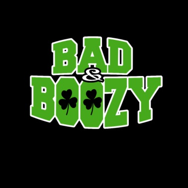 e2cb25f0c March Girl I'm Bad And Boozy Tshirt St Patrick Day Women's T-Shirt ...