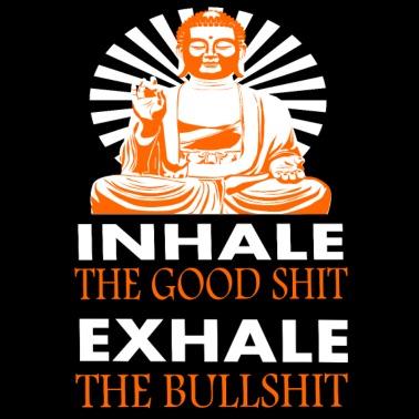 breathe yoga slogan writing women's tshirt  spreadshirt