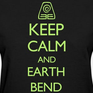 Keep Calm and Earth Bend VECTOR