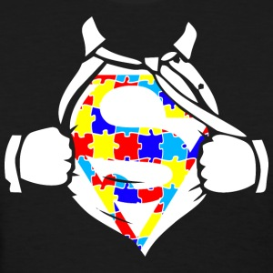Autism Awareness Superhero - Women's T-Shirt