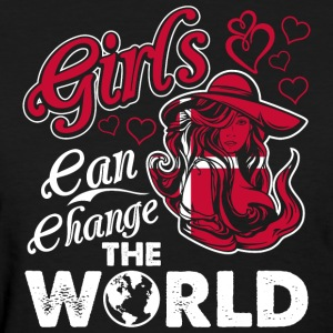 Danish Girls Can Change The World - Women's T-Shirt
