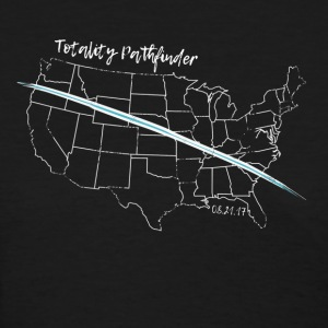 Great Northern Eclipse WHITE Totality pathfinder - Women's T-Shirt
