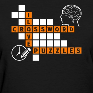 Love Crossword Puzzles Tee Shirt - Women's T-Shirt