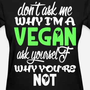 Don't ask me Why I'm a vegan