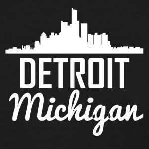 Detroit Michigan Skyline - Women's T-Shirt
