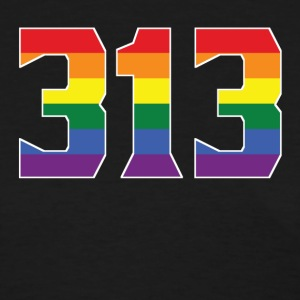Gay Pride 313 Detroit Area Code - Women's T-Shirt