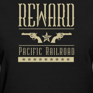 Reward pacific railroad - Women's T-Shirt