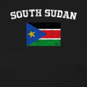 South Sudan Flag Shirt - Vintage South Sudan T-Shi - Women's T-Shirt