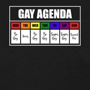 lgbt gay agenda t shirt - Women's T-Shirt
