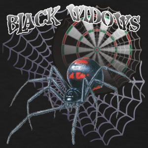 Black Widows Darts Shirt - Women's T-Shirt
