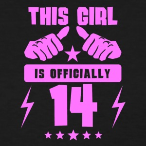 This Girl Is Officially 14 - Women's T-Shirt