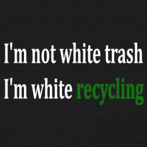 white_recycling - Women's T-Shirt