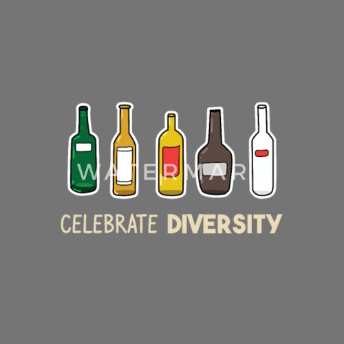 celebrate diversity beer brewing brewery gift men Women's T-Shirt | Spreadshirt
