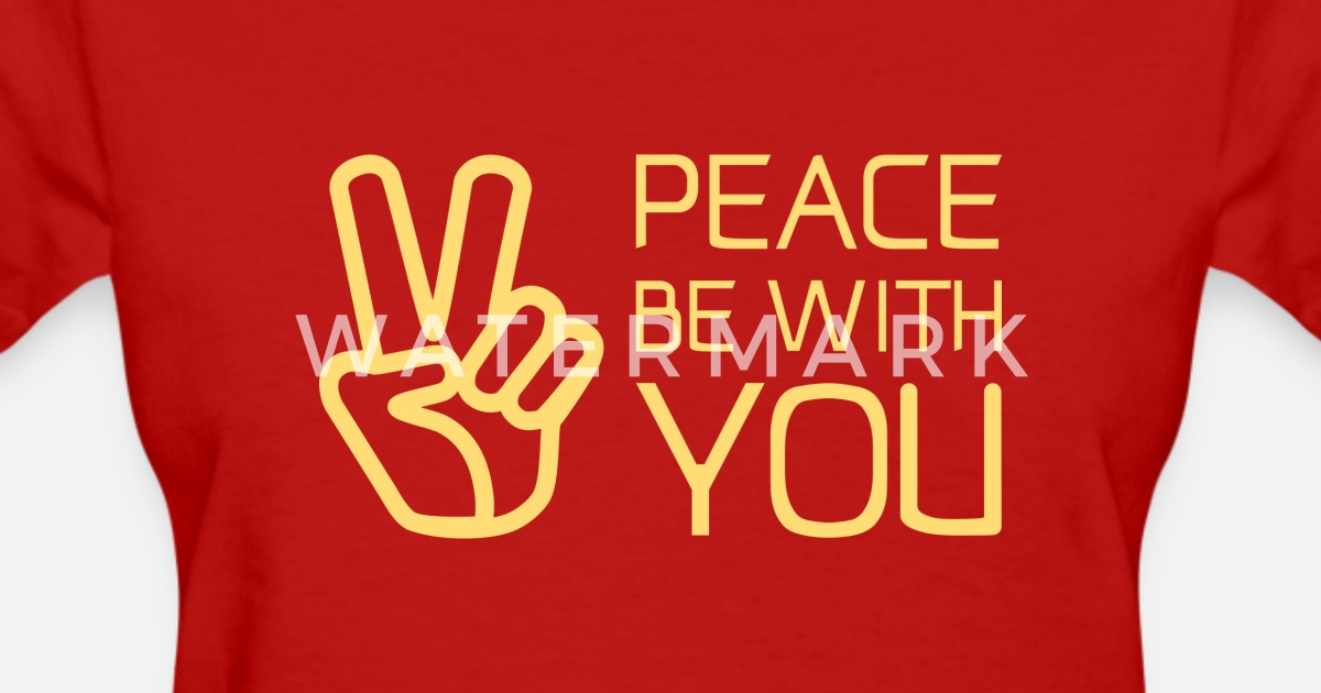 Christianbible Quotepeace Be With You By Meekever Spreadshirt