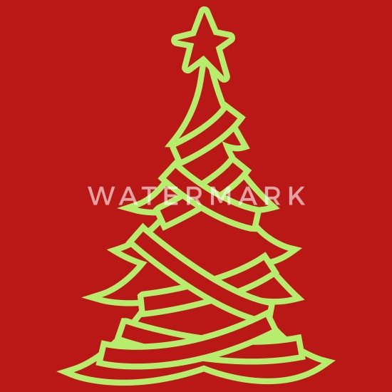 Christmas Clip Art North Star.Simple Adorned Christmas Tree With A North Star Women S T