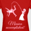 Mission Accomplished / Bride Fishing Husband - Women's T-Shirt