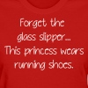 This princess wears running shoes - Women's T-Shirt