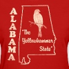 Alabama, the yellowhammer state vintage - Women's T-Shirt