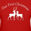 our first christmas - Women's T-Shirt