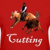 Cutting Horse - Women's T-Shirt