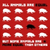 All animals are equal 2 (red) - Women's T-Shirt