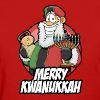 Merry Kwanukkah - Women's T-Shirt