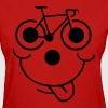 Bicycle Smiley Face - Women's T-Shirt