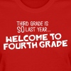 welcome to fourth - Women's T-Shirt