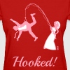 Hooked! (Bride Fishing Groom / Stag Party) - Women's T-Shirt