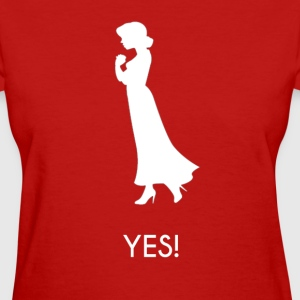 Marriage Proposal Accept Girl - Women's T-Shirt