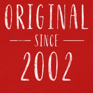 Original since 2002 distressed - Born in 2002 - Women's T-Shirt