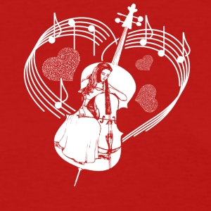 Cello Heart Shirt - Women's T-Shirt