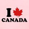 I Love Canada - Women's T-Shirt