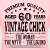 VINTAGE CHICK AGED 60 YEARS - Women's T-Shirt