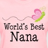 Worlds Best Nana - Women's T-Shirt