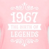 1967 - The Birth Of Legends - Women's T-Shirt
