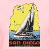 Retro Vintage Throwback San Diego California SoCal - Women's T-Shirt