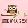 65th Birthday Owl Look Whoos 65 - Women's T-Shirt